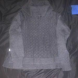 Warm turtleneck sweater